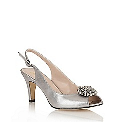 Lotus - Pewter 'Fascination' open toe shoes