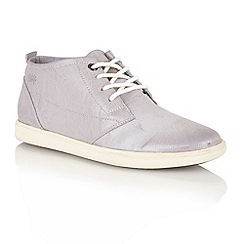 Lotus - Pale lilac 'Erani' lace up ankle boots