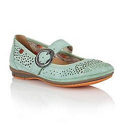 Lotus - Green 'Hingis' casual shoes