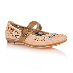 Lotus - Pale orange 'Hingis' casual shoes
