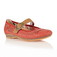 Lotus - Red 'Hingis' casual shoes