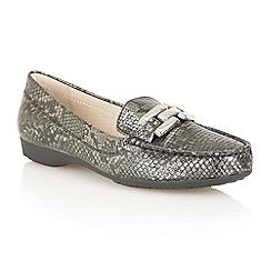 Lotus - Black 'Alice' flat shoes