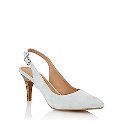 Lotus - Lotus blue suede 'Gloss' court shoes