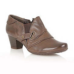 Lotus - Brown leather 'Celt' boot shoes