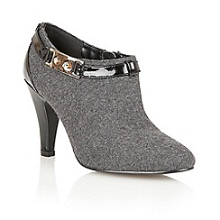 Lotus - Grey felt 'Noble' boot shoes