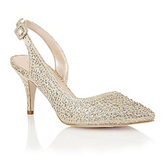 Lotus - Lotus gold 'Hope' court shoes
