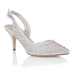 Lotus - Lotus lilac 'Hope' court shoes