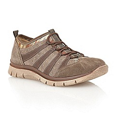 Lotus - Khaki 'Styra' casual shoes