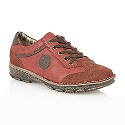 Lotus - Red 'Karpero' casual shoes
