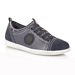 Lotus - Navy 'Zakas' casual shoes