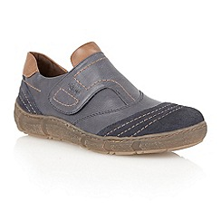 Lotus - Navy 'Juva' casual shoes