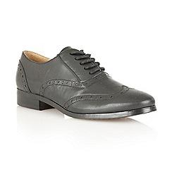 Lotus - Black Multi 'Cole' flat shoes