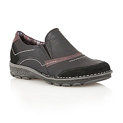 Lotus - Black 'Milatos' casual shoes