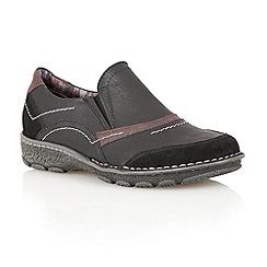 Lotus - Black 'Milatos' casual shoes