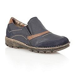 Lotus - Navy 'Milatos' casual shoes