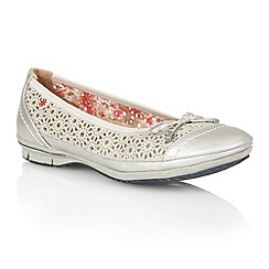 Lotus - Silver 'Jerilynn' casual shoes