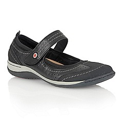 Lotus - Black 'Dakoda' casual shoes