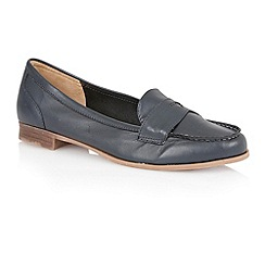 Lotus - Lotus navy 'Miami' loafers