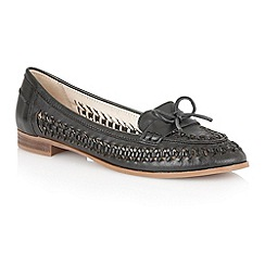 Lotus - Lotus black 'Megan' loafers