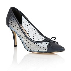 Lotus - Lotus navy 'Crede' court shoes
