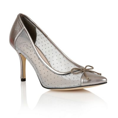 Lotus pewter Crede court shoes