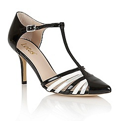 Lotus - Lotus black 'Georgina' court shoes