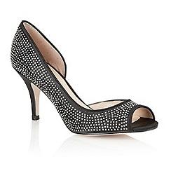 Lotus - Black 'Soire' open toe shoes