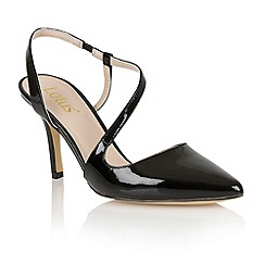 Lotus - Lotus black 'Nadine' court shoes