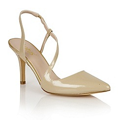 Lotus - Lotus gold 'Nadine' court shoes
