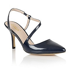 Lotus - Lotus navy 'Nadine' court shoes