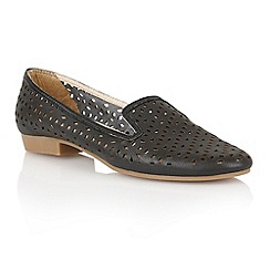 Lotus - Lotus black 'Octavia' slipper shoes
