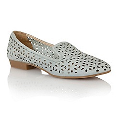 Lotus - Lotus pale blue 'Octavia' slipper shoes
