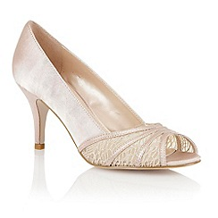 Lotus - Lotus nude 'Tina' open toe shoes