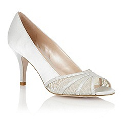 Lotus - Lotus silver 'Tina' open toe shoes