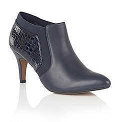 Lotus - Blue leather 'Arnie' shoe boots