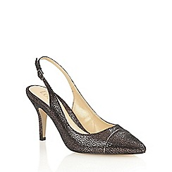 Lotus - Graphite print 'Jaenelle' court shoes