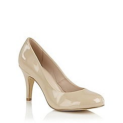 Lotus - Nude shiny 'Izzile' courts