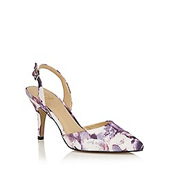 Lotus - Purple floral 'Bridgitte' courts