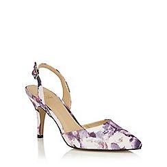 Lotus - Purple floral 'Bridgitte' courts