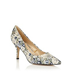 Lotus - Blue multi floral 'Jercia' courts