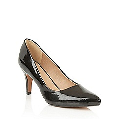 Lotus - Black shiny 'Blithe' courts