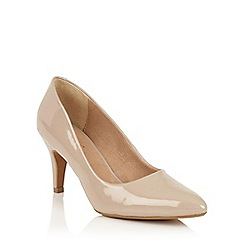 Lotus - Nude shiny 'Blithe' courts