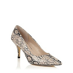 Lotus - Natural snake print 'Yoko' courts