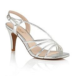 Lotus - Silver metallic 'Amalia' sandals