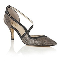 Lotus - Metallics 'Hanako' animal print courts