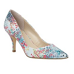 Lotus - Blue 'Buckwell' court shoes