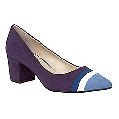 Lotus - Blue 'Gamma' pointed toe courts