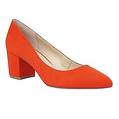 Lotus - Orange 'Briars' court shoes