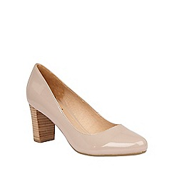 Lotus - Nude shiny 'Gaize' courts