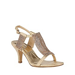 Lotus - Gold chainmail 'Aspey' sandals